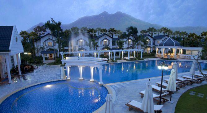 giá phòng Vườn Vua Resort Phú Thọ mới nhất khuyến mại 0