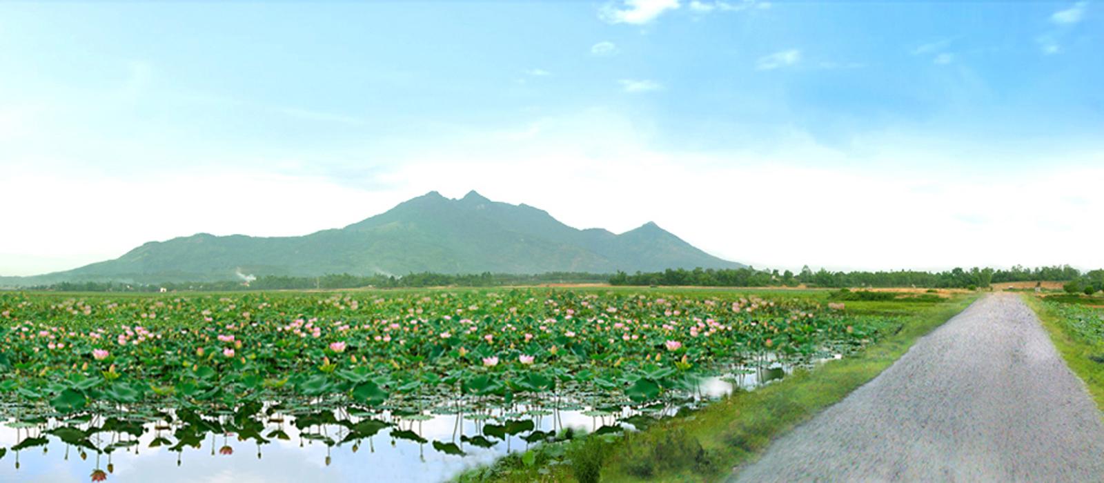 Đi du lịch Vườn Vua thưởng ngoạn đầm sen Bạch Thủy