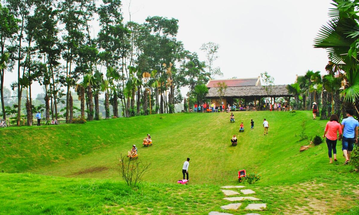 Khu du lịch Vườn Vua Resort có những trò chơi gì? 0