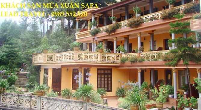 Khách sạn mùa xuân Sapa