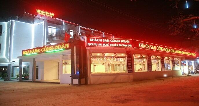 khách sạn Công Đoàn chùa Hương
