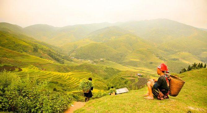 Tour Du Lich Cap treo Fansipan Sapa 2 ngay 1 dem bang o to