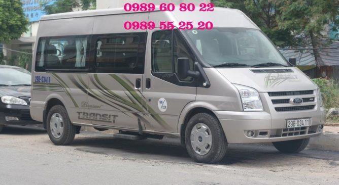 Cho Thuê Xe 16 chỗ đi Chùa Hương 1 ngày Giá rẻ nhất 0989608022
