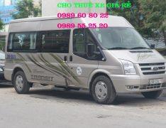 Cho Thuê Xe 16 chỗ đi Sầm Sơn 2 ngày Giá rẻ nhất 0989608022