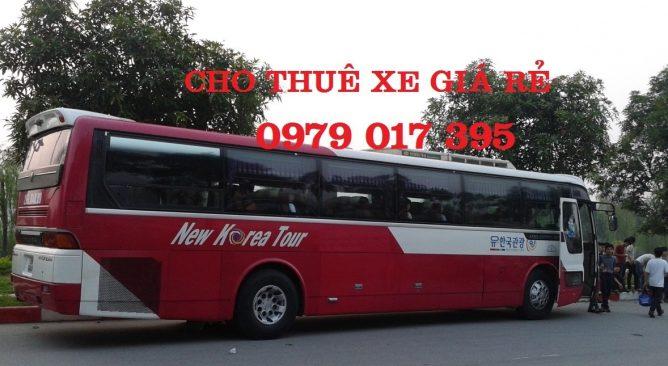 Cho Thuê Xe 45 chỗ đi Cát Bà 2 ngày Giá rẻ nhất 0989608022