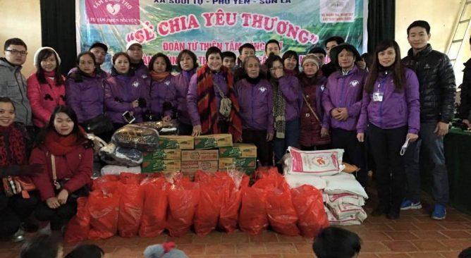 Tour Du Lịch Kết hợp Từ Thiện tại Mộc Châu