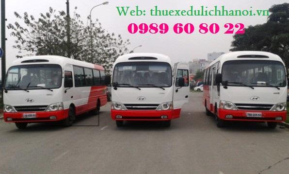 Cho Thuê Xe 29 chỗ Tại Hà Nội Giá rẻ nhất 0989608022- Khuyến Mại Lớn