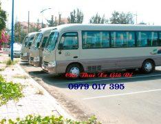 Cho Thuê Xe 29 chỗ đi Mộc Châu 2 ngày Giá rẻ nhất 0989608022