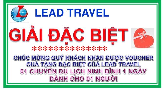Lead Travel Giải thường Tour Khuyến Mại