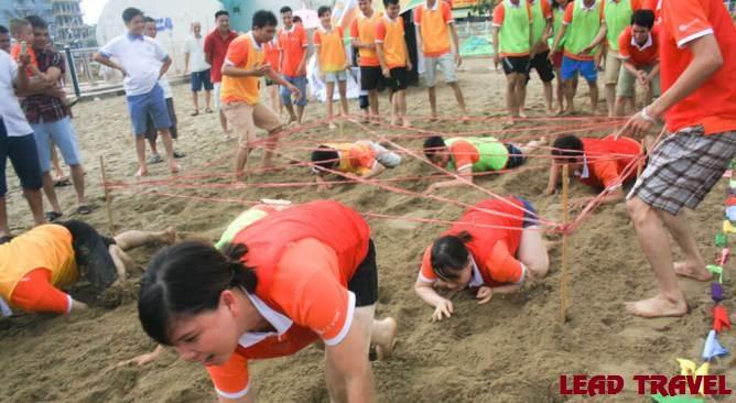 Trò chơi Team Building bãi biển