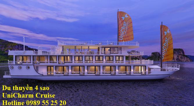 Du Thuyền UniCharm Cruise 2 ngày 1 đêm