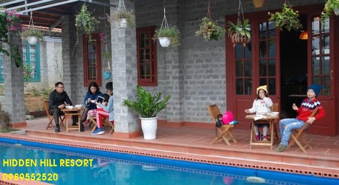 Tour du lịch Hidden Hill Resort Vĩnh Phúc