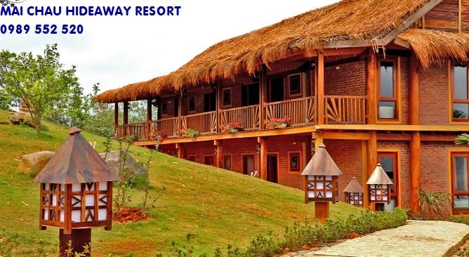 khu nghỉ dưỡng Mai Châu Hideaway Resort