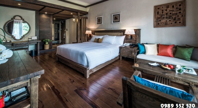 phòng nghỉ Melia Ba Vì Resort
