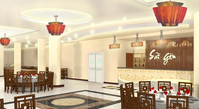 nhà hàng Khách sạn Sài Gòn Tourist Phú Thọ