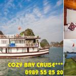 Du Thuyền Cozy Bay Cruise Hạ Long 2 Ngày 1 Đêm Khuyến Mại