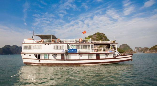 Du thuyền Hạ Long Cozy Bay Cruise