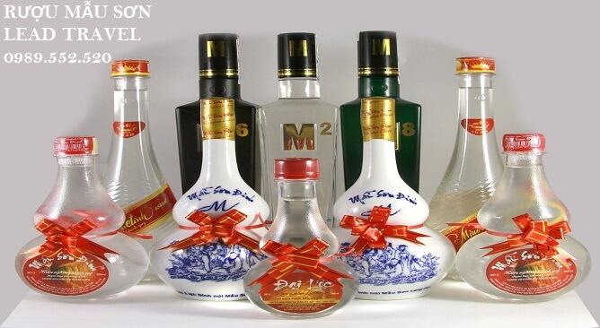rượu Mẫu Sơn Lạng Sơn