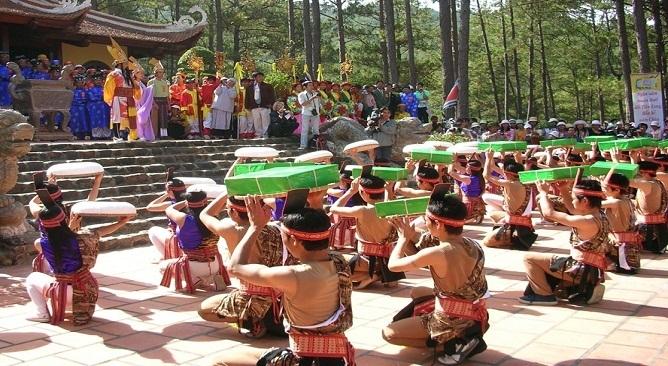 lễ hội đền Hùng ở đâu