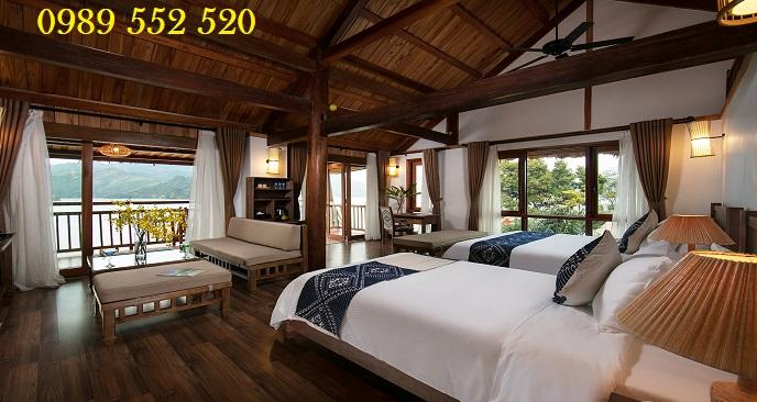 phòng nghỉ tại resort Hideaway