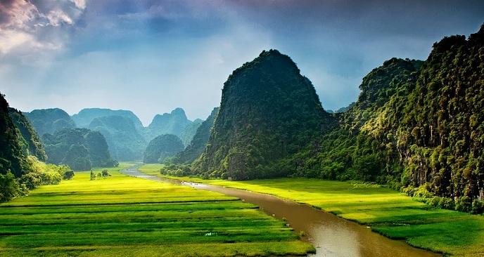 vẻ đẹp Ninh Bình