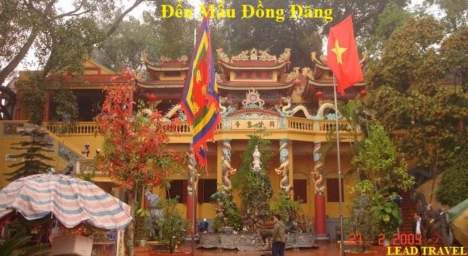 Tour đi Lạng Sơn 1 ngày đền mẫu Đồng Đăng