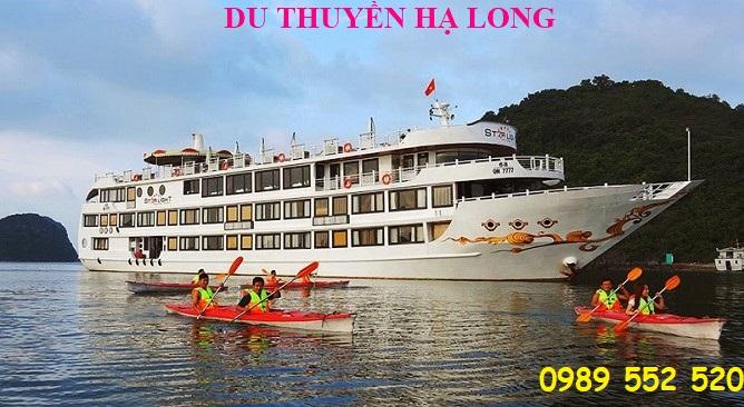 Tour du thuyền Hạ Long 2 ngày 1 đêm khuyến mại