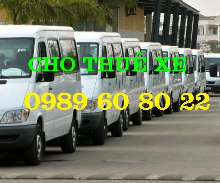 Cho Thuê Xe 16 chỗ Tại Hà Nội Giá rẻ nhất 0989608022-Khuyến Mại 30%