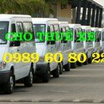 Cho Thuê Xe 16 chỗ đi Mộc Châu 2 ngày Giá rẻ nhất 0989608022