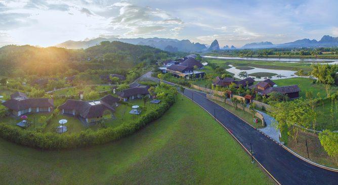 Cho Thuê Xe 29 chỗ đi Serena Resort Kim Bôi Hòa Bình 2 ngày Giá rẻ nhất