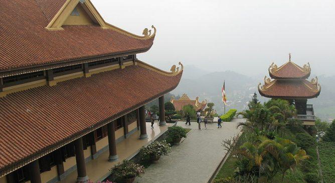 Tour Du Lịch Tây Thiên-Thiền Viện Trúc Lâm 1 Ngày Giá rẻ