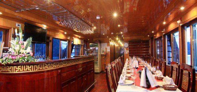 Du Thuyền Golden Star Cruise Hạ Long 2 Ngày 1 Đêm