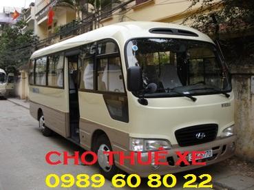 Cho Thuê Xe 29 chỗ đi Hưng Yên 1 ngày Giá rẻ nhất Đặt Tour