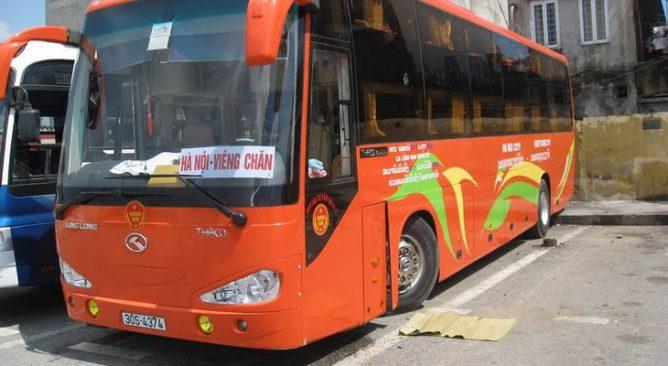 Đặt Vé Xe Bus đi Lào-Xe đi Viêng Chăn Giá rẻ nhất 0989552520