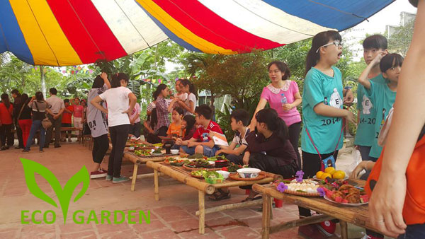 Tour du lịch Eco Garden Thái Dương 1 ngày Giá Rẻ