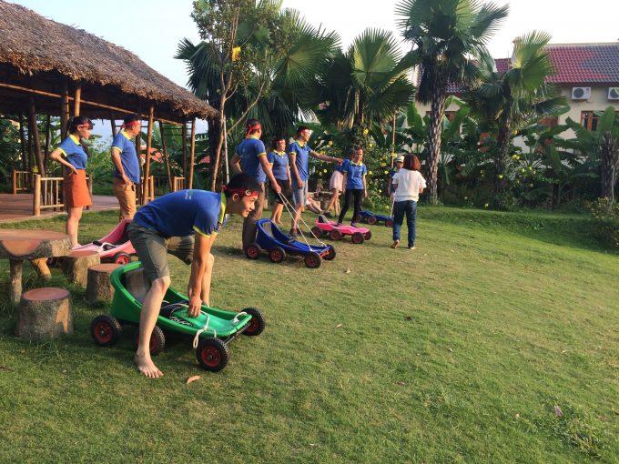 Tour Du Lịch Vườn Vua Resort 1 Ngày Team Building