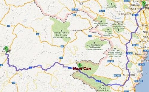Xe từ Hà Nội đi Luong Phrabang Giá rẻ nhất 0989552520-Đặt Vé Xe Bus đi Lào Giá rẻ