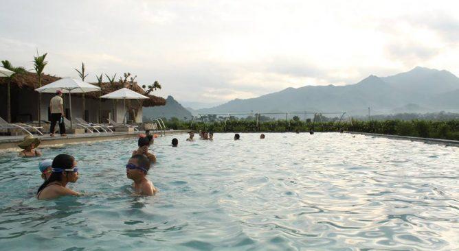 Cho Thuê Xe 29 chỗ đi An Lạc Resort Hòa Bình 2 ngày Giá rẻ nhất