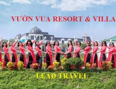 Tour Vườn Vua Resort & Villas Phú Thọ 2 ngày 1 đêm