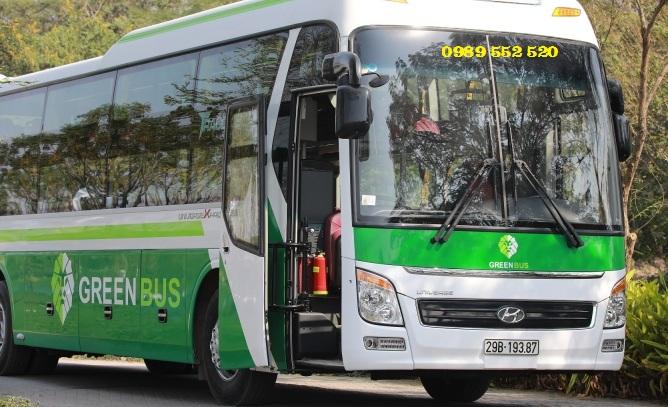 Xe Sapa Green Bus