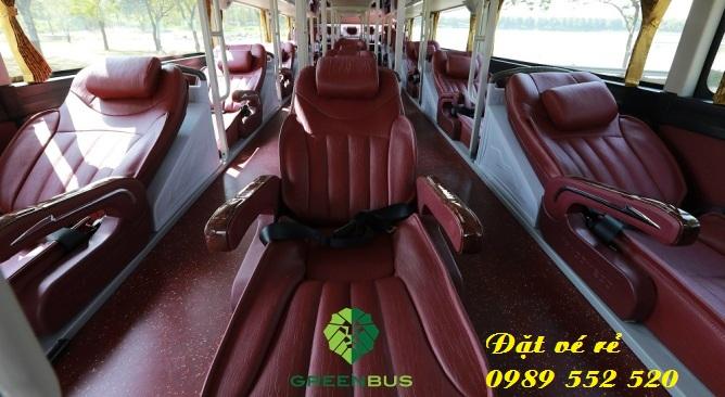 nội thất xe Green Bus