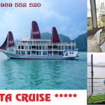 Du Thuyền La Pinta Cruise 2 Ngày 1 Đêm Đẳng cấp 5 sao