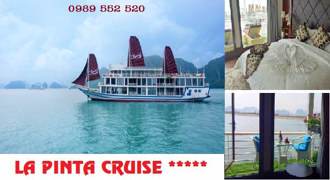 Du thuyền La Pinta Cruise 5 sao