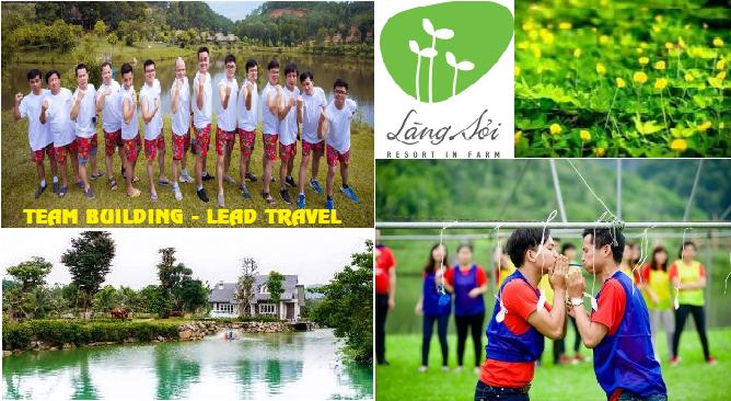 Tour du lịch Làng Sỏi Resort 1 ngày Team Building