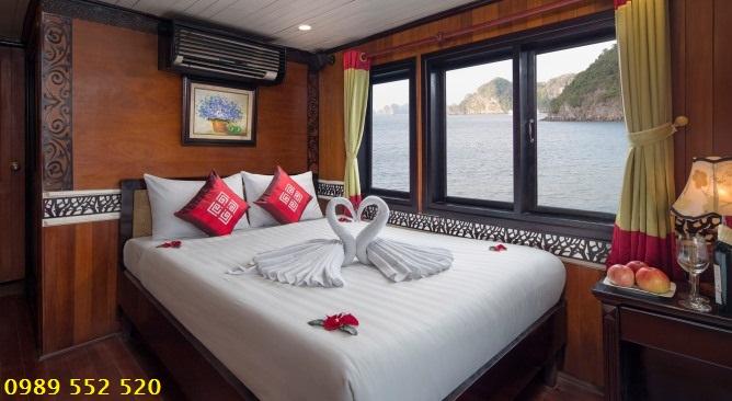 phòng nghỉ Peace Charm Cruise Hạ Long