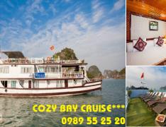 Du thuyền Cozy Bay Cruise Hạ Long 2 ngày 1 đêm
