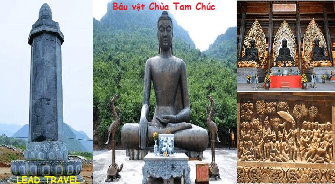 du lịch chùa Tam Chúc báu vật chùa Tam Chúc Ba Sao