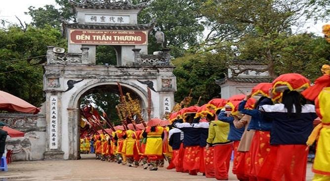 Lễ hội Đền Trần Thương