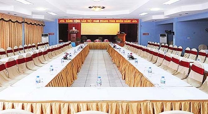 phòng họp của khách sạn hải âu đồ sơn hải phòng