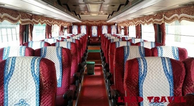 xe bus đi hạ long